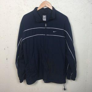 Men's Nike Blue Windbreaker Jacket